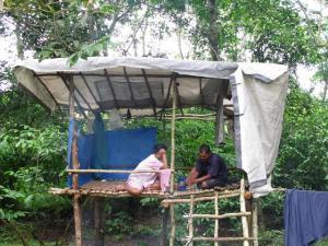 pondok 'durian jatuh'