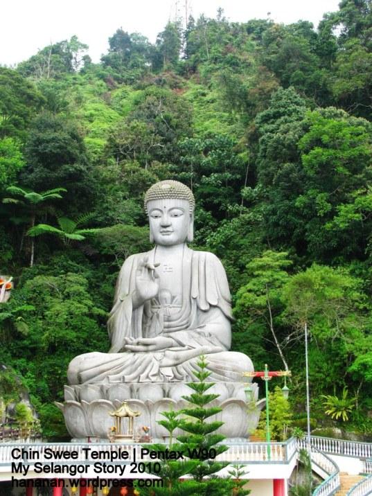 Buddha statue at Chin Swee Tempel, Genting