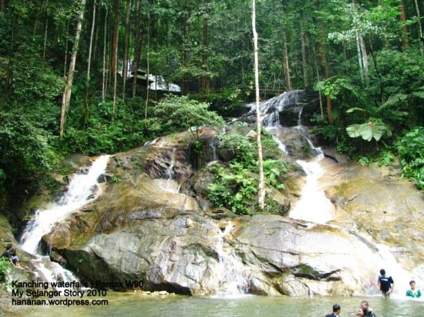 Kanching Waterfall