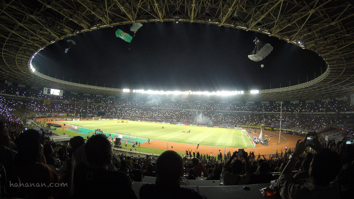 Keseruan Grand Final Piala Sudirman di GBK