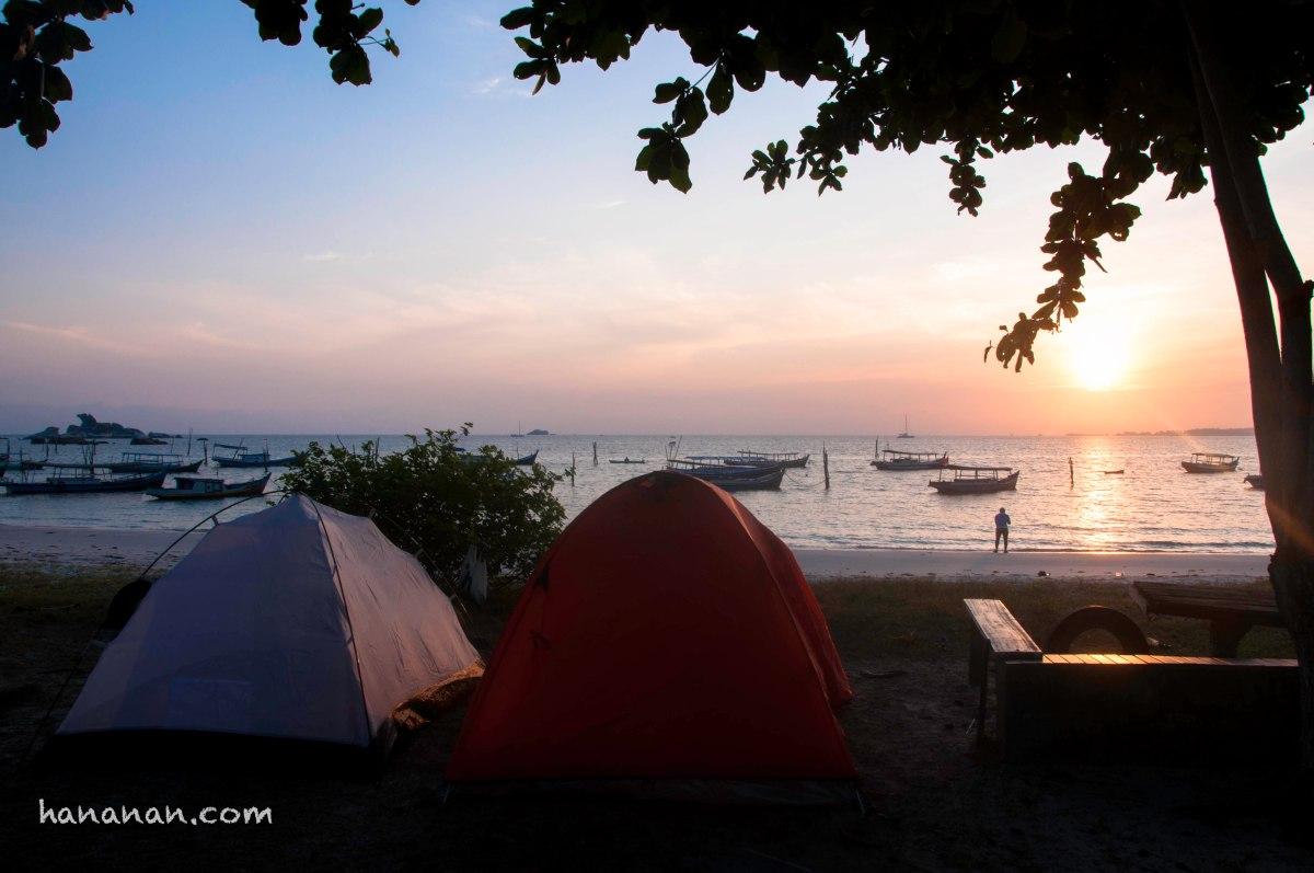 Kenapa Harus Kamping di Pantai Tanjung Kelayang dan Penyabong –Belitung