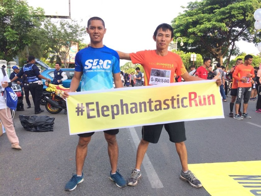 Koj Ayun. Pelari yang tiap minggu lari half marathon.