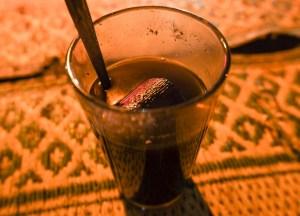 Kopi Jos, kopi dengan tambahan bara arang.