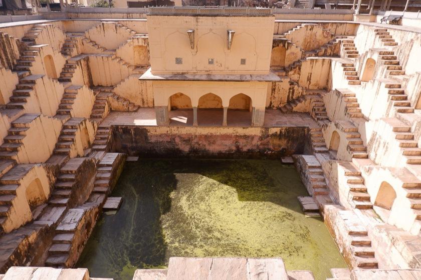 Stepwell Panna Meena ka Kund Jaipur